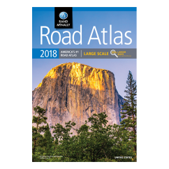 Rand McNally – 2018 Large Scale Road Atlas of USA