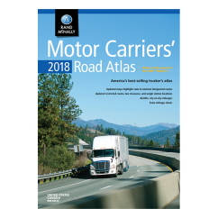 Rand McNally – 2018 Motor Carriers Road Atlas of USA, Canada and Mexico