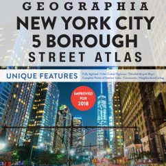 5 Boroughs of New York City Atlas