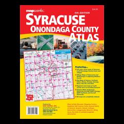 MapWorks – Syracuse and Onondaga County Street Atlas