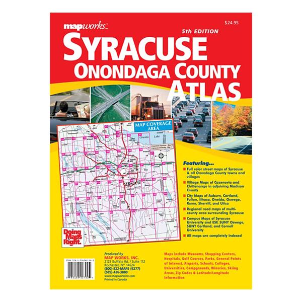 MapWork - Buffalo and Niagara County Street Atlas