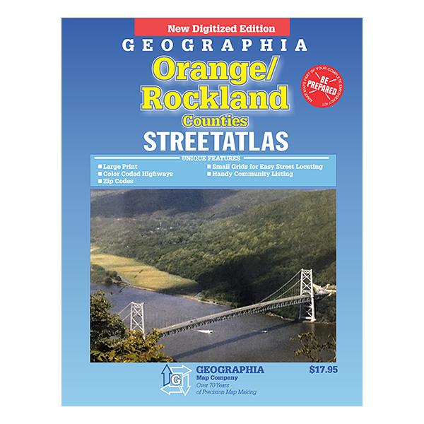 Orange County and Rockland County (NY) Atlas