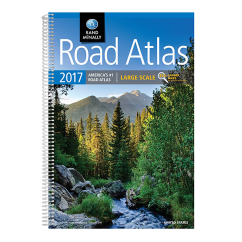 Rand McNally – 2017 Large Scale Road Atlas of USA