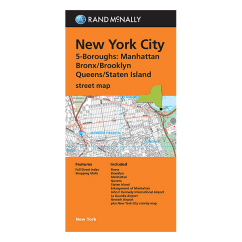 Rand McNally – New York City  5 Borough Map