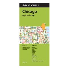 Rand McNally – Chicago & Vicinity (IL) Street Map