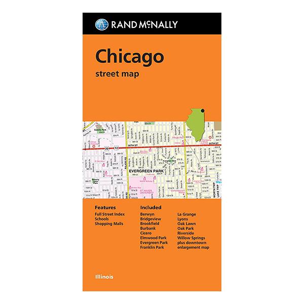 Rand McNally - Chicago (IL) Street Map