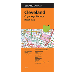 Rand McNally – Cleveland and Cuyahoga County (OH) Street Map