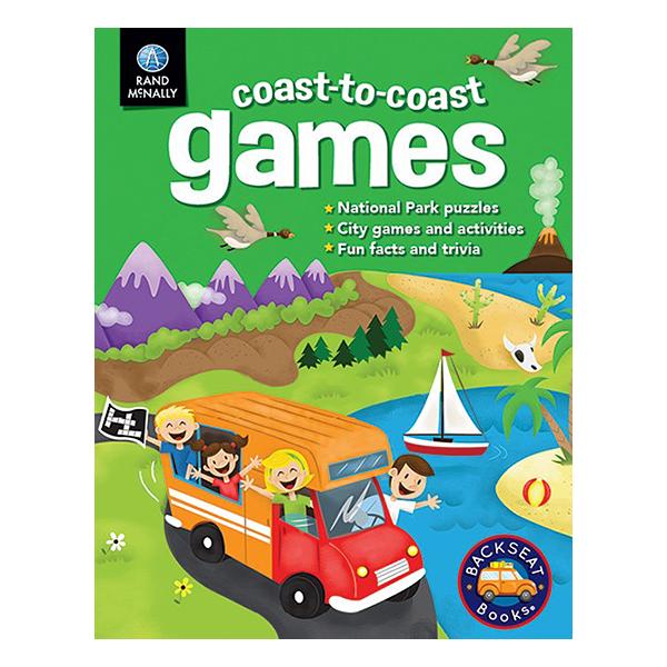 Rand McNally - Coast To Coast Games