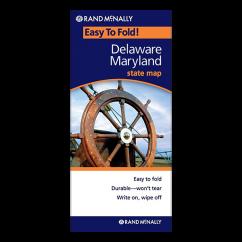 Rand McNally – Delaware and Maryland States Easyfinder