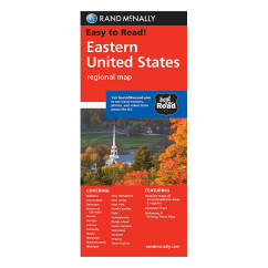 Rand McNally – Eastern United States Map