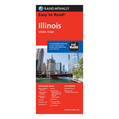 Rand McNally – Illinois States Map