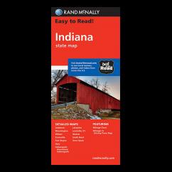 Rand McNally – Indiana States Map