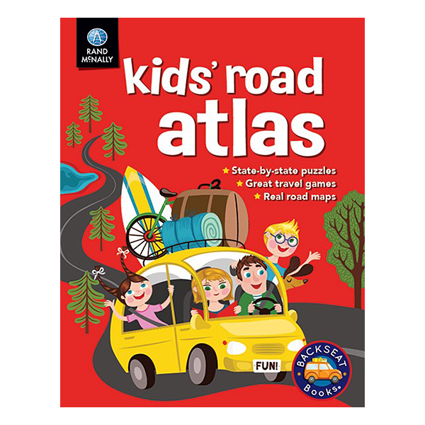 Rand McNally Kids United States Road Atlas Geographia Maps - Us road atlas