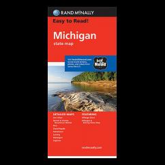 Rand McNally – Michigan States Map