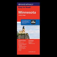 Rand McNally – Minnesota States Map