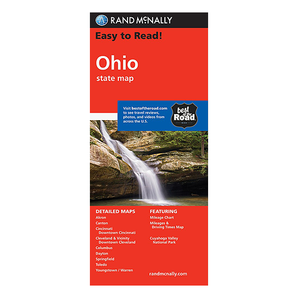 Rand McNally - Ohio State Map