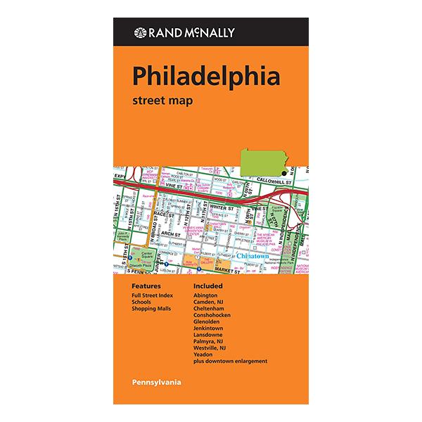 Rand McNally - Philadelphia (PA) Street Map