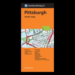 Rand McNally – Pittsburgh (PA) Street Map