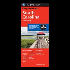 Rand McNally – South Carolina State Map