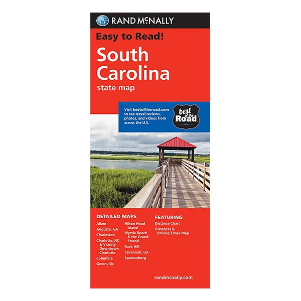 Rand McNally - South Carolina State Map