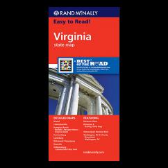 Rand McNally – Virginia State Map