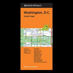 Rand McNally – Washington DC Street Map
