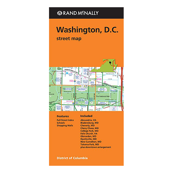 Rand McNally - Washington DC Street Map