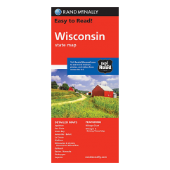 Rand McNally – Wisconsin State Map