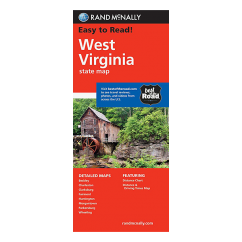 Rand McNally – West Virginia State  Map